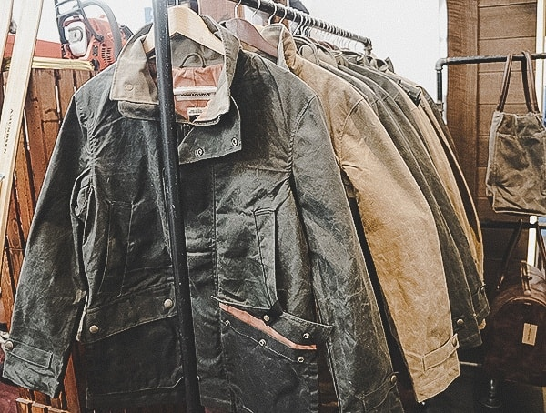 Tom Beckbe Waxed Canvas Mens Jackets