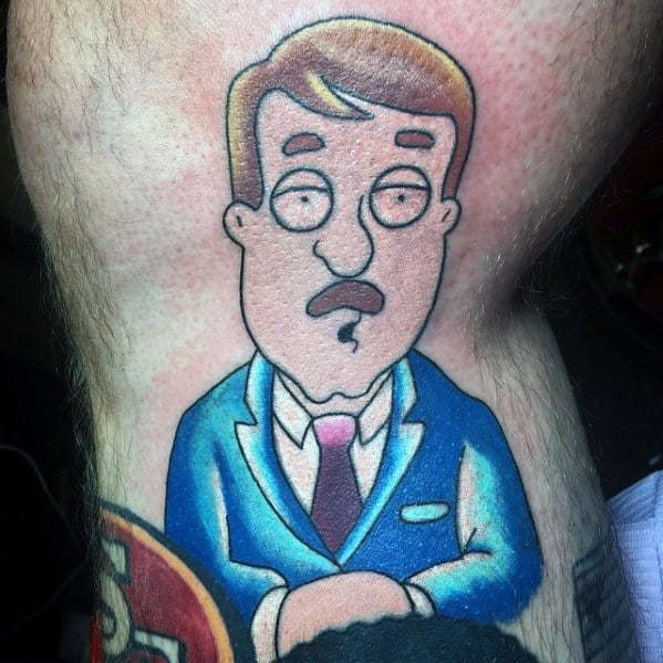 Tom Tucker News Reporter Tattoo Ideas Family Guy