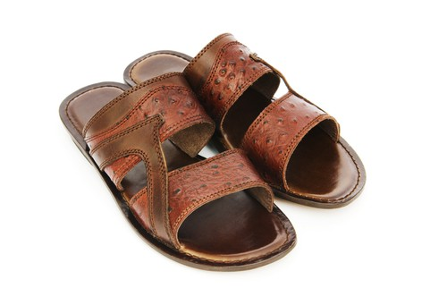 Tommy Bahama Whiskey Slide Sandals For Men
