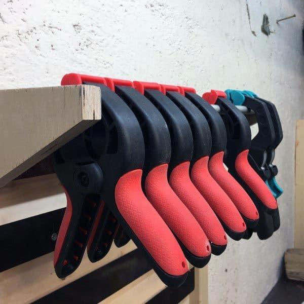 Tool Storage Ideas Clamp Holder Bar
