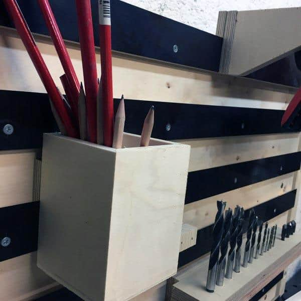 Tool Storage Ideas Pencil Holder Box
