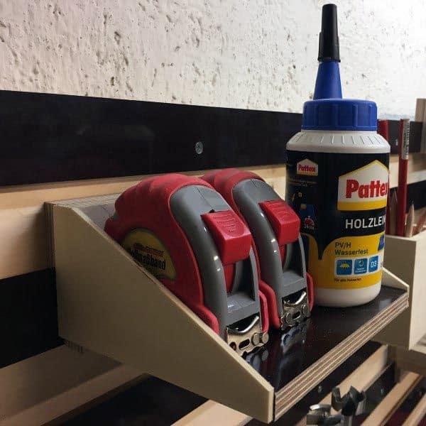 Tool Storage Ideas Tape Measure Holder