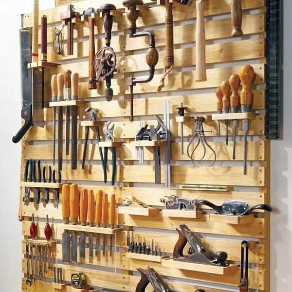 Tool Storage Organization Idea Inspiration