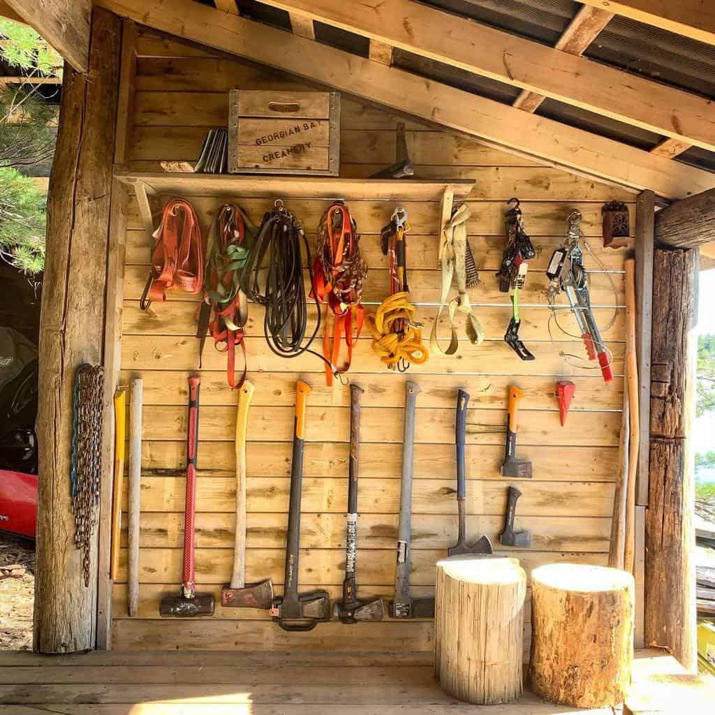 tool storage shed storage ideas meatwaterwood