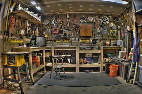 Tool Storage Workshop Ideas