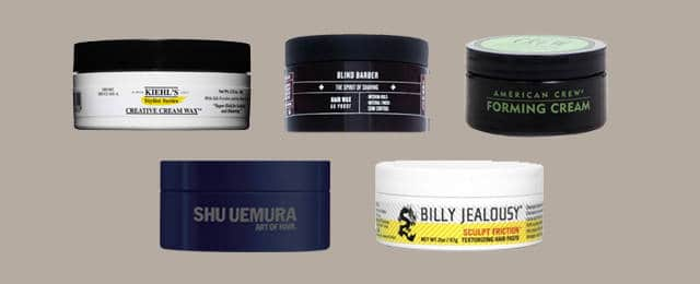 Men's Hair Styling Cream Custom Top 15 Best Hair Wax For Men  Perfect Look Styling Product