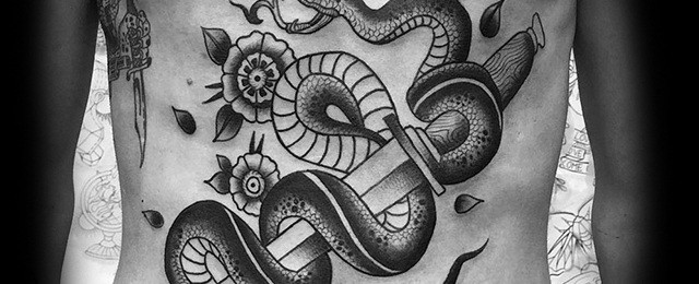 Top 20 Best Places To Get Tattoos That Can Be Hidden