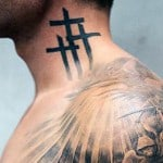 Top 40 Best Neck Tattoos For Men – Small To Heavily Inked Heads