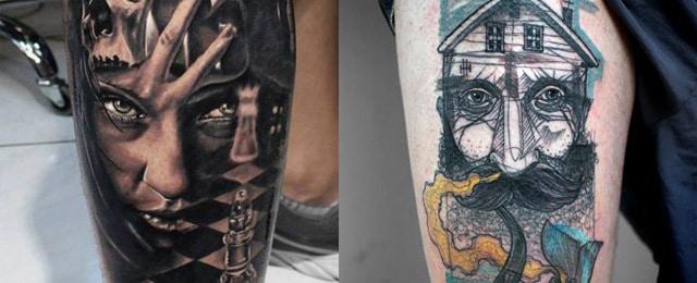 Top 75 Best Leg Tattoos For Men