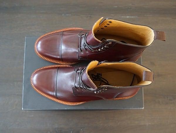 Top Beckett Simonon Dowler Cap Toe Male Boots