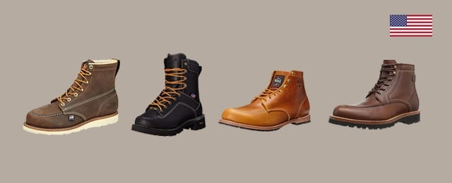 8a2f38e8f23 Top 30 Best American Made Work Boots For Men - Made In USA Footwear