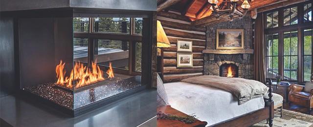 Top 70 Best Corner Fireplace Designs – Angled Interior Ideas