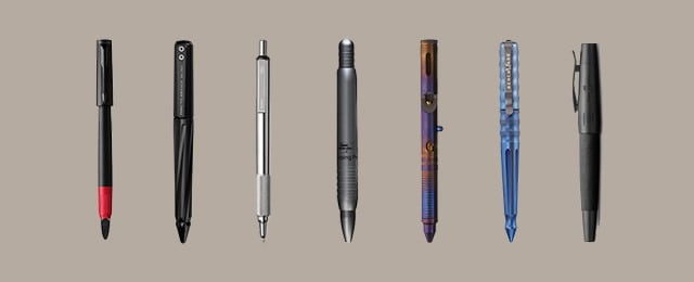 Black Ink Metal Blue Barrel Ball Point Pens Ideal For Engraving
