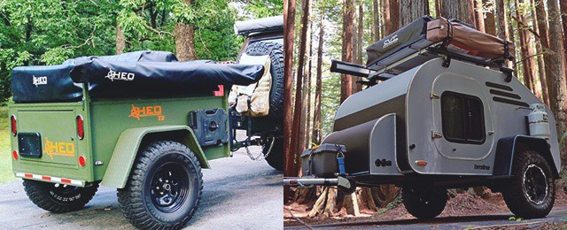 Rugged Off Road Travel Trailers