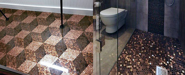 Top Best Penny Floor Design Ideas
