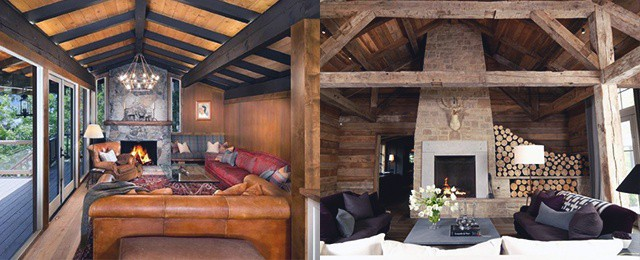 Top 70 Best Stone Fireplace Design Ideas – Rustic Rock Interiors