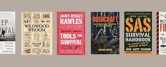 Top Best Survival Books For Men