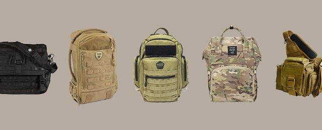 Top Best Tactical Diaper Bags For Men
