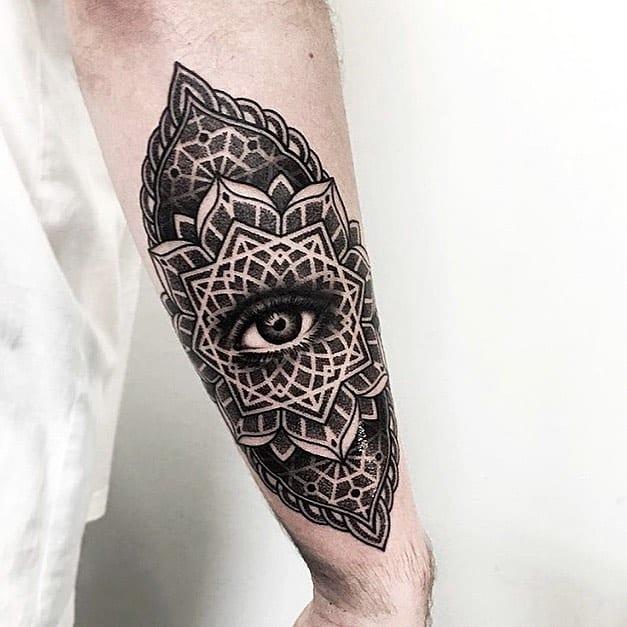 Top Class Third Eye Tattoo