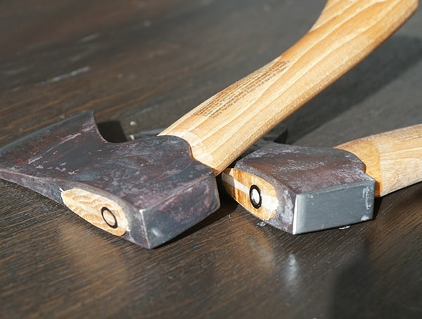 Top Of Axe And Hatchet Head Hults Bruk