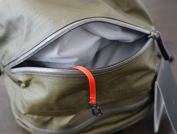 Top Pocket Open Arcteryx Granville 16 Zip Backpack