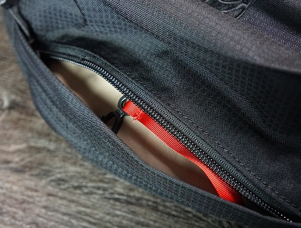 Top Pocket Open Vertx Edc Gamut Plus Backpack