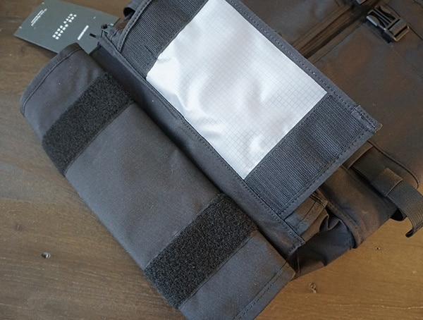 Top Velcro Closure Mission Workshop The Rhake Backpack