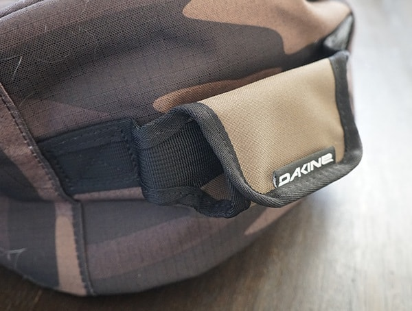 Top Velcro Handle Dakine Fall Line Ski Roller Bag In Field Camo