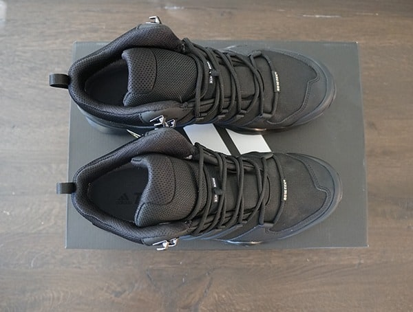 Top View Adidas Terrex Swift R2 Mid Gtx Mens Hiking Shoes