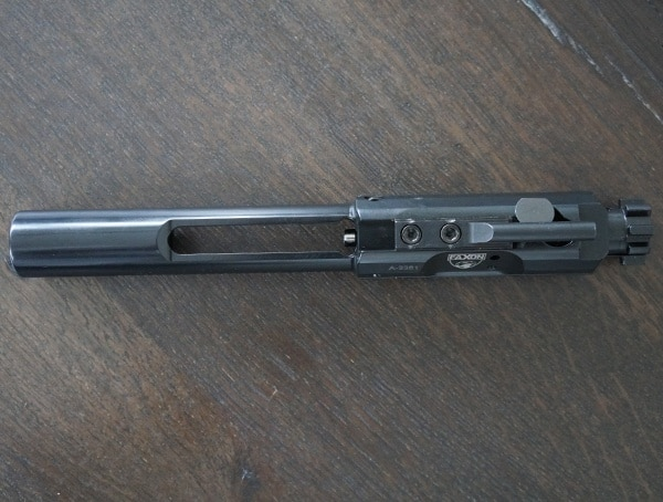 Top View Faxon Firearms 308 Full Mass Bolt Carrier Group Complete Nitride