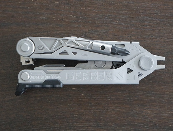 Top View Gerber Center Drive Plus Multi Tool