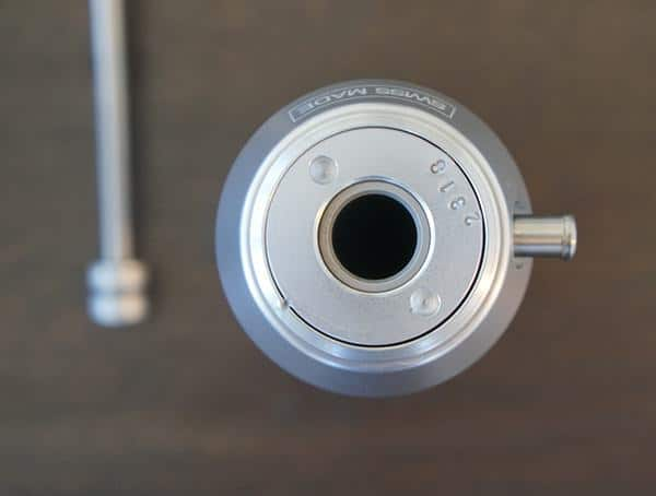 Top View Katadyn Pocket Pump Handle