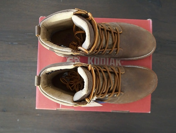 Top View Mens Boots Kodiak Thane