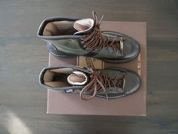 Top View Mens Filson X Danner Grouse Boots