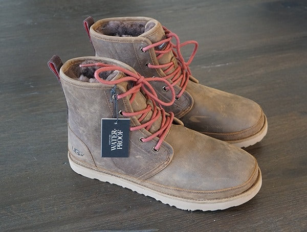 4517e04db5a Grizzly Mens UGG Harkley Waterproof Boots Review - Masculine Leather ...