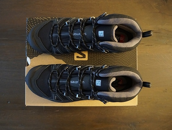 Top View Salomon Mens X Ultra Mid 2 Spikes Gtx Shoes