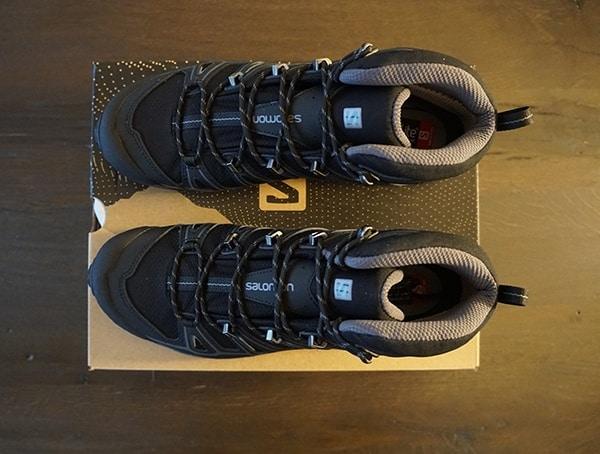 Top View Salomon Mens X Ultra Mid 2 Spikes Gtx Shoes