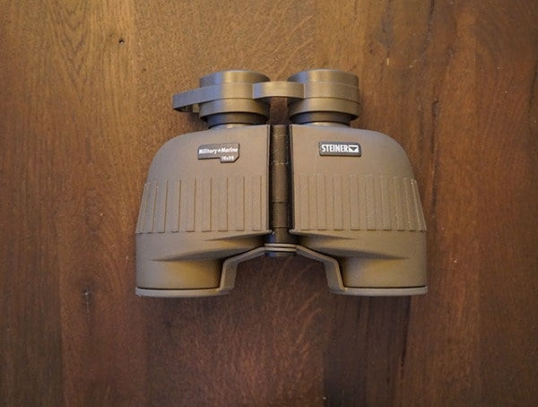 Top View Steiner Military Marine 10x 50 Binoculars