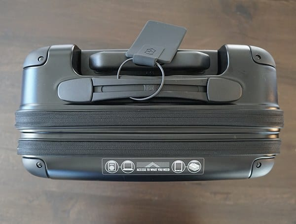 Top View Victorinox Spectra 2 0 Dual Access Global Carry On Suitcase