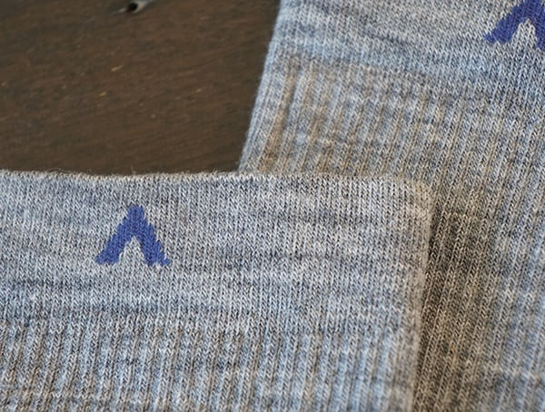 Top Wigwam Sock Detail