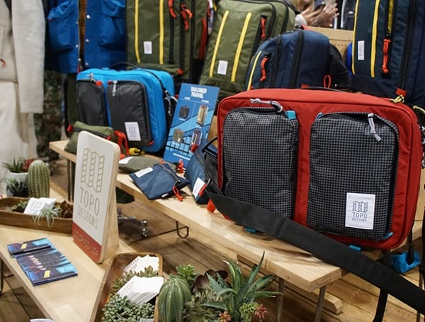 Topo Designs Backpacks Outdoor Retailer Winter Market 2018