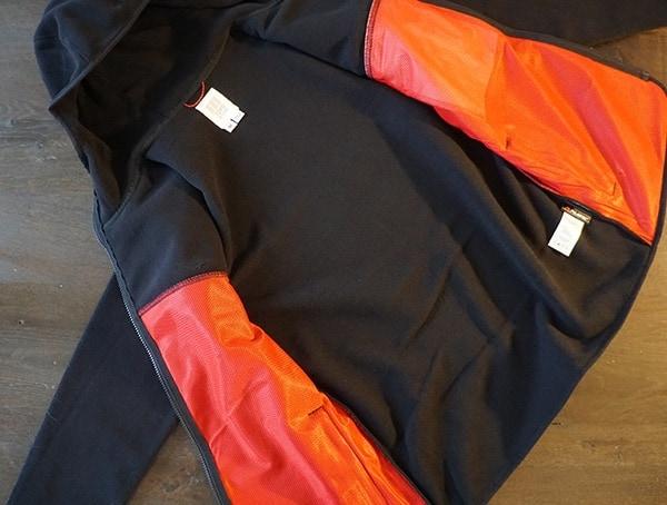 Topo Designs Fleece Hoodie Interior For Men