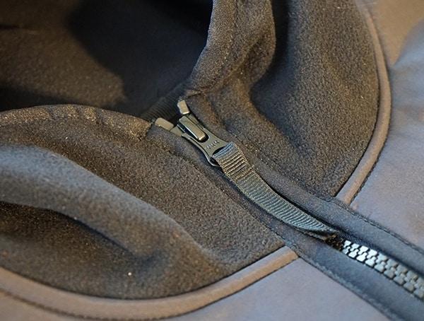 Topo Designs Fleece Hoodie Main Pull Center Chest Zipper