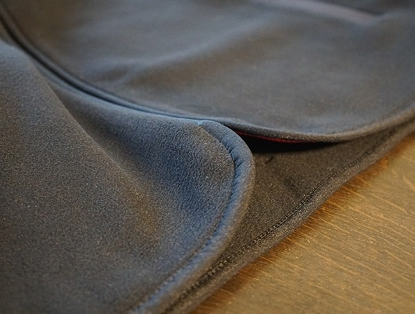 Topo Designs Fleece Hoodie Rounded Bottom Hem