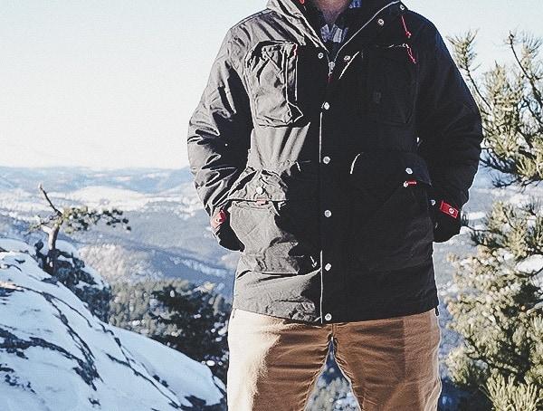 Topo Designs Mens Winter Jacket Mountain Review Black