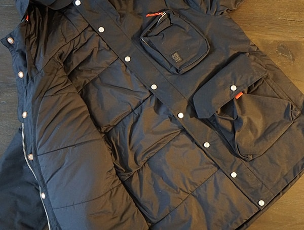 Topo Designs Mountain Jacket For Men Interior