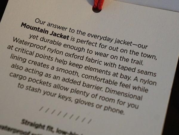 Topo Designs Mountain Jacket Tag Story