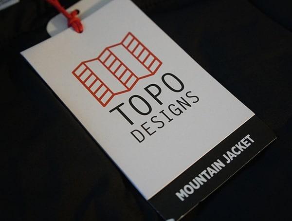 Topo Designs Mountain Jacket Tag