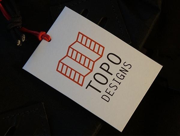 Topo Designs Tag