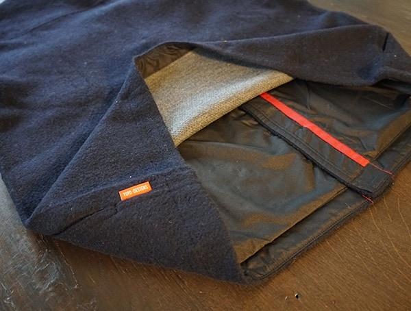 Topo Designs Wool Shirt Split Back For Ventilation